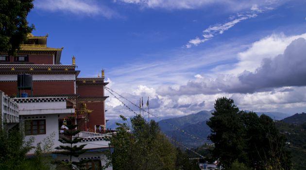 Namo Buddha Monastery Kathmandu Valley view