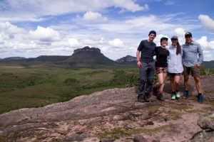 Our view during lunch at Chapada Diamantina