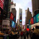 New York City Times Square One Sick Dream