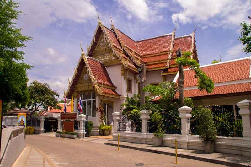 Arrival in Bangkok, Thailand