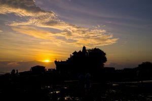 Tanah Lot Bali Indonesia sunset