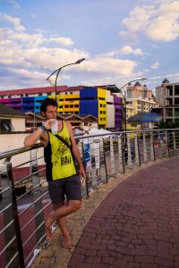 Kuala Terenganu in Malaysia has a lot of colorful buildings and streetart