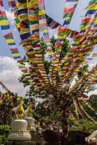 Bouddhanath buddha stupa nepal