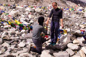 Everest Basecamp Nepal marriage proposal