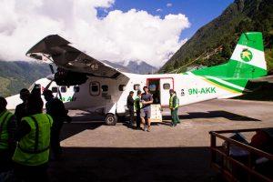 Lukla airport safe landing
