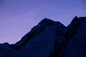 Sunrise at Everest Basecamp Nepal