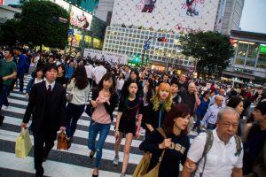 Tokyo Japan Shibuya Crossing