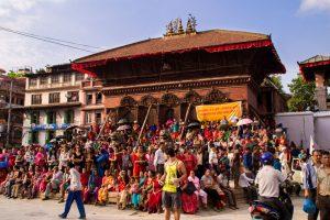 kathmandu durbar square festival