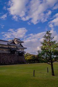 Japanese Alps Kanazawa castle (2)