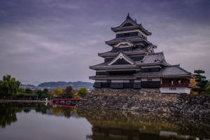 Japanese Alps Matsumoto castle