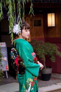 Japanese Alps kanazawa kimono