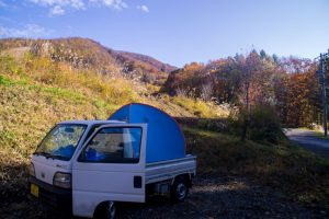 Japanese Alps roadtrip camping