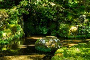 Kyoto Japan Ginkaku-ji Garden (2)