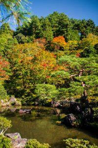 Kyoto Japan Ginkaku-ji Garden