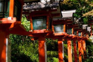 Kyoto Japan Kurama-dera temple
