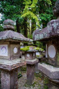 Nara Japan Japanese lantern statues