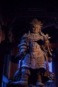 Nara Japan demon statue