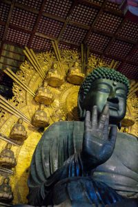 Nara Japan largest buddha statue