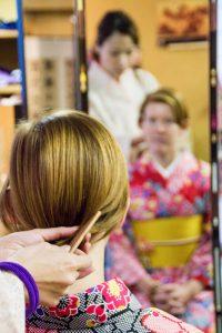 Osaka Japan Maikoya kimono experience