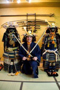 Osaka Japan Maikoya samurai museum