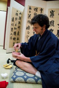 Osaka Japan Maikoya tea ceremony