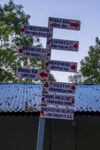 Vipassana road signs