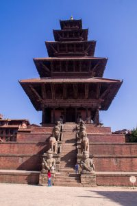 Bakthapur Nepal square temple