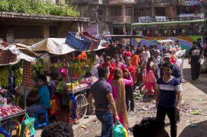 Dhulikhel market