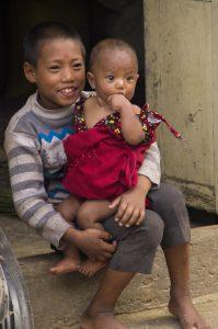 Namo Buddha Monastery brothers children