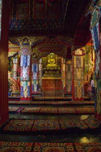 Namo Buddha Monastery hall