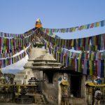 Namo Buddha Monastery prayer flags