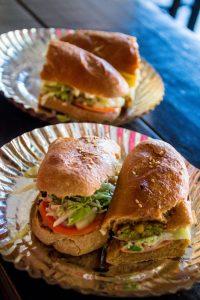 Pokhara Nepal Hot Sandwich Corner